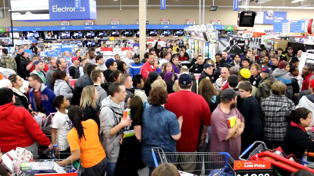 The Black Friday crowd wasting time, money, and energy