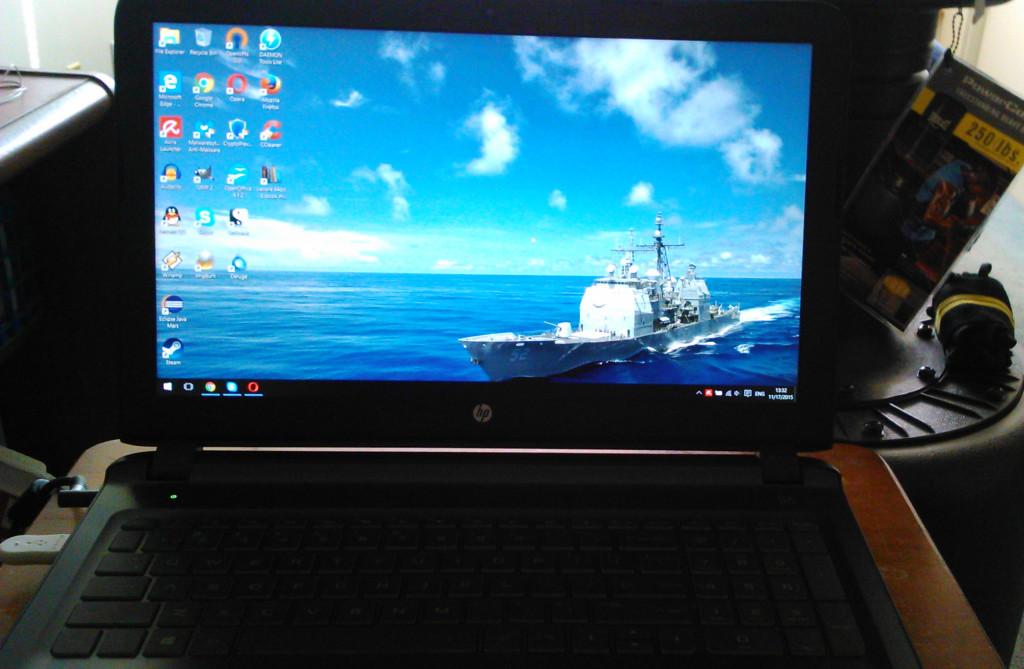 My HP Pavilion 15 Gaming Laptop