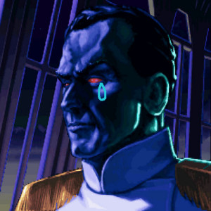 Grand Admiral Thrawn crying