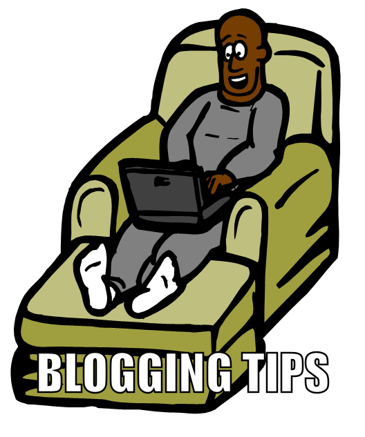 Blogging tip not to be confused with mushroom tip