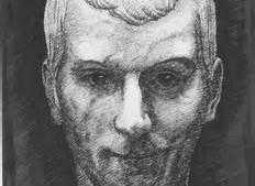 A drawing of Niccolo Machiavelli