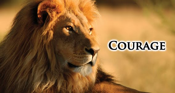 The courage of a lion