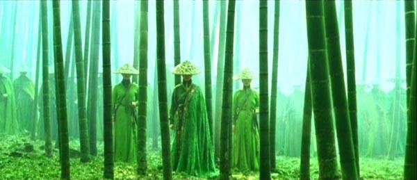 House of Flying Daggers bamboo forest