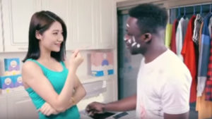 Racist Chinese laundry commercial