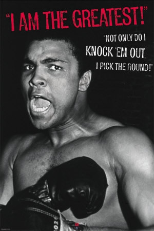 Muhammad Ali, greatest of all time