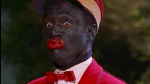 Blackface coon image