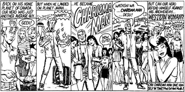 Charisma Man Comic