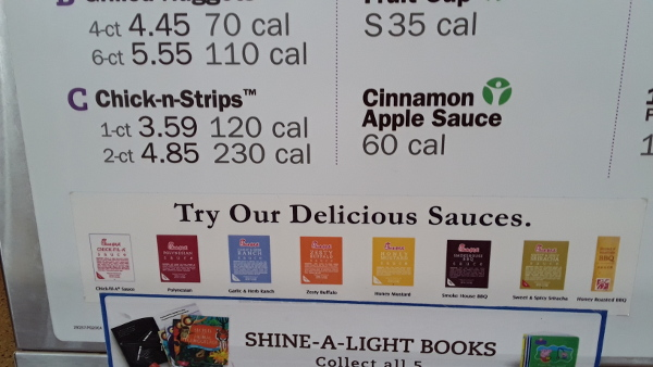 Chic-Fil-A sauces in America