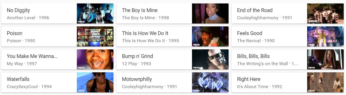 Nineties R&B Google Search