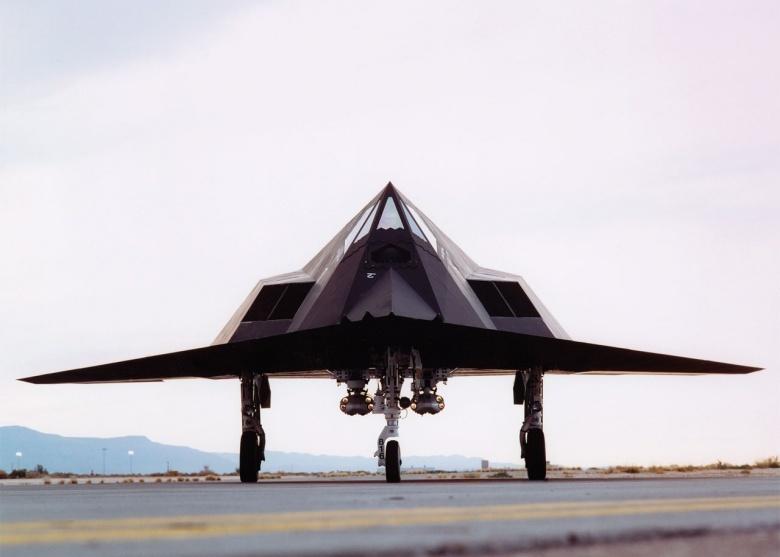 F-117A Nighthawk stealth fighter.