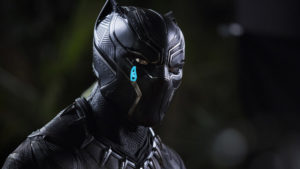 Black Panther crying